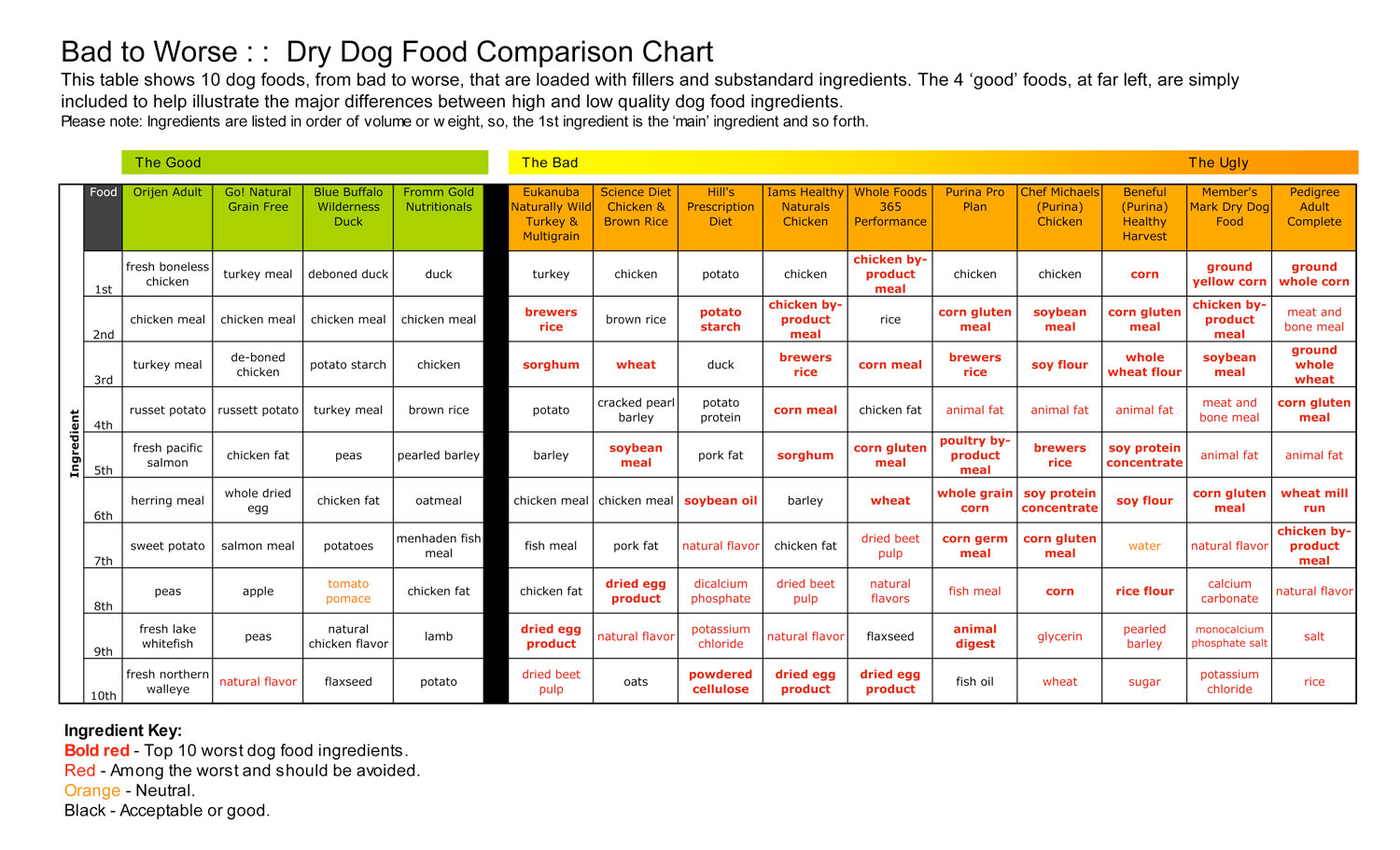 Top 10 Dog Foods - Best Dog Food - Better Food For Dogs